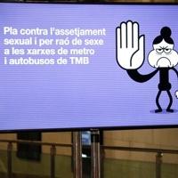 TMB generalizará en buses y metro de Barcelona la videovigilancia contra el acoso sexual