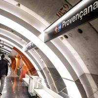 TMB inaugura la nueva estación de metro de Provençana en l'Hospitalet de Llobregat