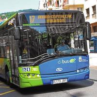 El transporte público en el País Vasco funciona al 100% de su capacidad y aforo