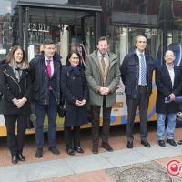 Valladolid, pionera en el uso de autobuses híbridos de autogás