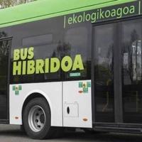 Vitoria-Gasteiz ya cuenta con diez autobuses híbridos tras incorporar Tuvisa cinco nuevos vehículos a su flota